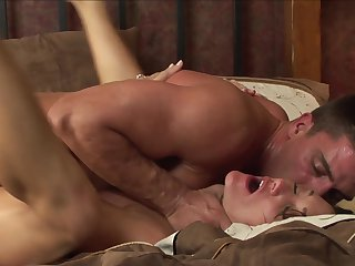 Brunette Tony Ribas gets poked the way she loves it