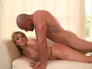 Piercings Aj Applegate is one oral slut who gives guys meaty snake a try