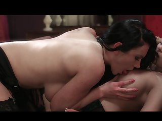 Brunette Lucie Love has dick-hungry love hole and takes Pascal White's worm