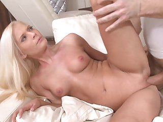 Fine looking blonde Candee Licious  gets nailed