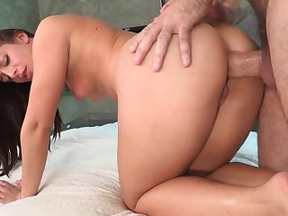 Big butt girl Mischa Brooks gets ass fucked