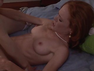 Redhead is a lesbian sex fuck addict who loves Diane Deluna's vagina so much